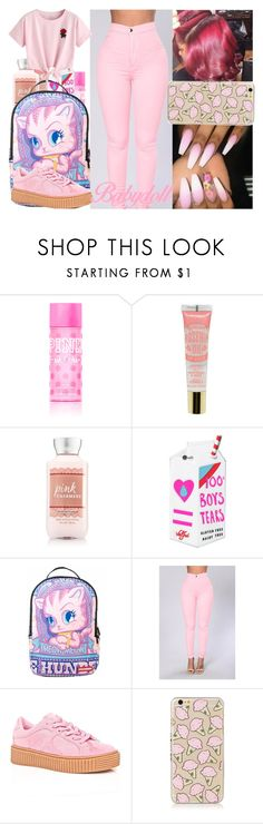 """boom!"" by niyielanae ❤ liked on Polyvore featuring Victoria's Secret PINK, Valfré, Sprayground, Cape Robbin and WithChic"
