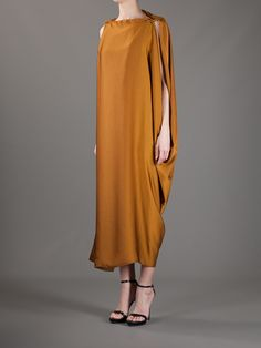 Lanvin Sleeveless Draped Dress - Gente Roma