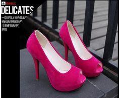 Sexy moda dedo aberto sapatos de salto alto plataforma de 14 centímetros de salto fino sandálias mulheres bombas de sapatos femininos # 5772