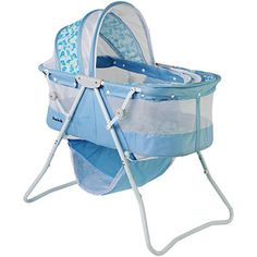 Dream on Me Karley Bassinet, Light Blue 49
