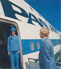 Pan Am's agonizing decline began in the late 1960s and noticeably affected the quality of passenger services from about 1980, pictured