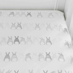 Organic Cotton Baby Bedding In An Adorable Bunny Pattern Boll And Branch