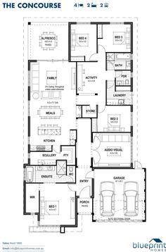The Concourse floorplan