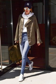 Pin for Later: If You Think Gigi Hadid's Outfit Is Simple, Just Wait Until You See It From the Back