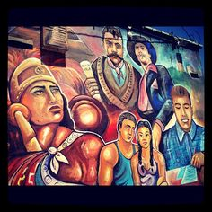 Chicano mural full view... - @xicano007 | Webstagram