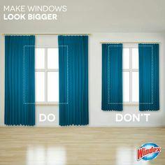 Make windows look bigger