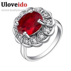 Find More Rings Information about Red Rings with Big Stones Vintage Jewelry for Women 925 Silver Purple Crystal Ring for Lover Joyas Bague Mariage Ulove J542,High Quality jewelry single,China jewelry snake Suppliers, Cheap jewelry textile from ULOVE Fashion Jewelry on Aliexpress.com
