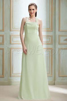 Dresswe.com SUPPLIES Attractive A-Line Square Sashes/Ribbons Floor-Length Nadya's Bridesmaid Dress Junior Bridesmaid Dresses