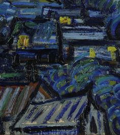 PAINTING / The Starry Night – 1889, Vincent Van Gogh Google Art project