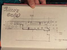 Rocco's cafe plan sketch