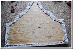 tufted headboard diy.................................................