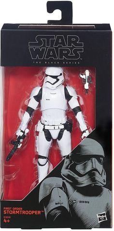 "First Order Stormtrooper Star Wars The Force Awakens Black Series #04 6"" Disney #Hasbro"