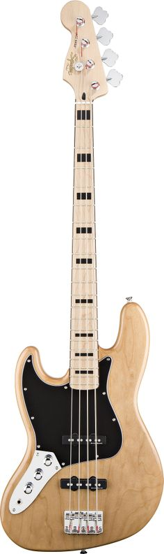 lefty guitars | Squier Vintage Modified Jazz Bass '70s Lefty Bass Guitar - Natural ...