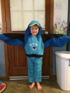 Wild Kratts Peregrine Falcon creature suit Halloween costume