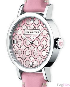Coach Breast Cancer Watch...love it. By far the coolest.  Google Image Result for http://www.bagbliss.com/wp-content/uploads/2010/09/Coach-Think-Pink-Breast-Cancer-Awareness-Watch-.jpg