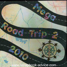 Road Trip Scrapbook