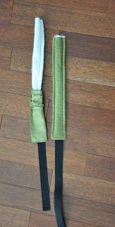evulekotule: Návod na nosítko na panenky Magnetic Knife Strip, Knife Block
