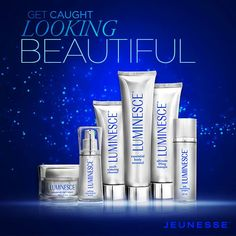 Light up your holiday look with fabulous skin. #LUMINESCE