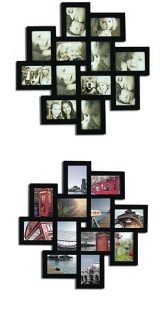 Black Collage Picture Photo Frame | Inexpensive Home Decor Ideas on a Budget | Dollar Store Decor Ideas