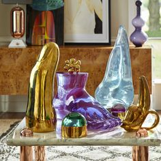 Luxe, loungey, and louche –add some Halston-era swank to your pad.