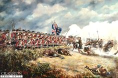 he Battle of Culloden, 16th April 1746 by David Rowlands.