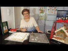 Greek Pastries, Desserts With Biscuits, Greek Sweets, Sheet Pan, Sweet Treats, Dessert Recipes, Christmas, Crochet, Youtube
