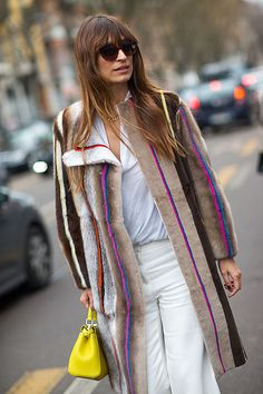 Catch the best looks from Milan's streets right here. Click for more!