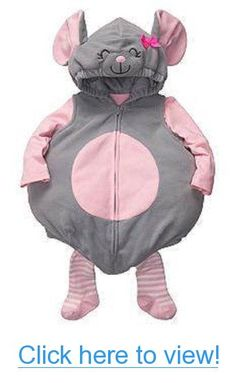 Carter's Baby Halloween Costume Little Mouse (6-9 Months) 3 Pc. Set #Carters…