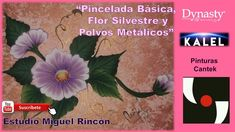 Pinceladas Básicas, Flor Silvestre y Polvos Metálicos con Miguel Rincón. Youtube, Instagram, Wild Flowers, Brush Strokes, Paintings, Artists, Blue Prints