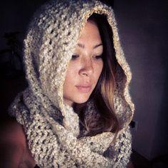 scarf and hood