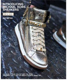 Michael Kors sneakers. I'm in love!
