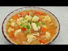 Zupa spalajaca tluszcz #1 /Kasia ze slaska gotuje - YouTube Cheeseburger Chowder, Thai Red Curry, Ethnic Recipes, Youtube, Food, Diets, Meal, Essen, Youtubers