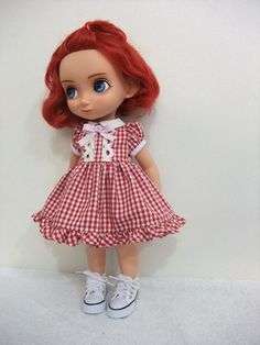 Girl Dolls, Baby Dolls, Disney Animator Doll, Ball Jointed Dolls, Well Dressed, Doll Clothes, Barbie, Sewing, Crochet