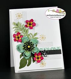 Botanical Blooms Stamping Class - Card #4 - OSW #151