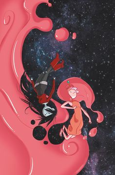 ADVENTURE TIME #37/ADVENTURE TIME: MARCELINE GONE ADRIFT #2 (KaBoom Studios, February 2015)