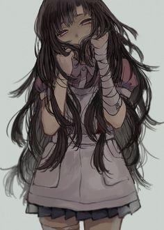 Yandere Manga, Yandere Girl, Animes Yandere, Chica Anime Manga, Manga Girl, Fan Art Anime, Anime Art Girl, Danganronpa Characters, Anime Characters