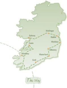 ancient ireland self driving tour. I've done this exact route! Travel Route, Places To Travel, Places To Go, Ireland Holiday, Self Driving, Ireland Travel, Travel Abroad, British Isles, Dream Vacations