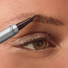 Eyebrow Makeup Tips, Eyebrow Tinting, Eyeshadow Makeup, Eyebrow Shaper, Brow Pen, Brow Liner, Brow Tutorial, Perfect Eyebrows Tutorial, Makeup Tips For Older Women
