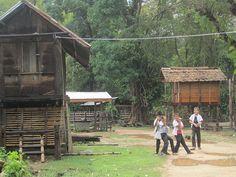 Ban Tom Lao in Bokeo - Laos