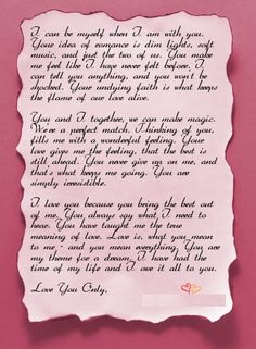 10 Romantic Love Letters For Him | http://fashion.ekstrax.com/2014/10/romantic-love-letters-for-him.html