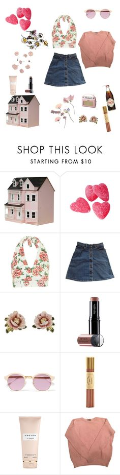 """""""Rose Garden"""" by victoria-dewolf ❤ liked on Polyvore featuring Streets Ahead, La Vie en Rose, Roberts, Motel, STELLA McCARTNEY, Les Néréides, Revlon, Sheriff&Cherry, Fine & Candy and Carven"""