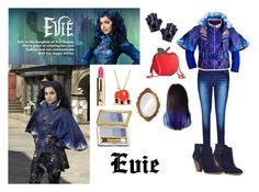 Evie: Evil Queens Daughter by captain-jordan-808 on Polyvore featuring polyvore and art