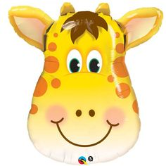 Check out the deal on Giraffe Head 32-inch Foil Balloon. #junglepartyideas #jungleparties #junglepartythemes #junglebirthdays #junglesafariparty #junglethemepartyideas #junglethemebirthdayparty #junglethemeparties #safarijungleparty #junglebirthdaypartyideas #junglebirthdayparties #junglepartydecorations #junglebirthdaytheme #safariparty #junglesafaribirthdayparty #junglekidsparty #partyjungletheme #junglethemebirthday #babyshower  #1stbirthday #photoboothprops #props #themepartyideas