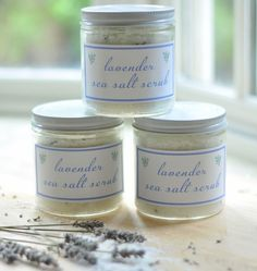 3 Easy DIY Body Scrub Recipes - some more recipes....I will have to try these.