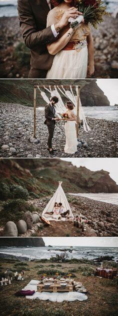 Sea wedding Más