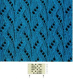 model ajur 1 model ajur 1 The Effective Pictures We Offer You About Knitting Techniques stitches A quality picture can tell you many things. Lace Knitting Stitches, Knitting Machine Patterns, Lace Knitting Patterns, Knitting Charts, Lace Patterns, Baby Knitting, Stitch Patterns, Diy Crafts Knitting, Crochet Chart