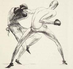 Dunoyer de Segonzac, 1922 Figure Sketching, Dance Movement, Moomin, Male Figure, Painting & Drawing, Art Reference, Martial Arts, Illustrator, Illustration Art
