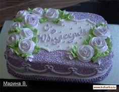 Кремовые торты Vanilla Layer Cake Recipe, Layer Cake Recipes, Pretty Cakes, Beautiful Cakes, Cupcakes, Cupcake Cakes, Funeral Cake, Chocolate Cake Designs, Foto Pastel