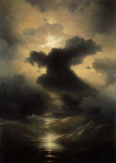 Ivan Aivazovsky aka Ivan Konstantinovich Aivazovsky (1817-1900, Russian) - Chaos. Creation Of The World, 1841