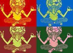 Sadhu baba Comic Books, Comics, Cover, Art, Art Background, Kunst, Cartoons, Cartoons, Performing Arts